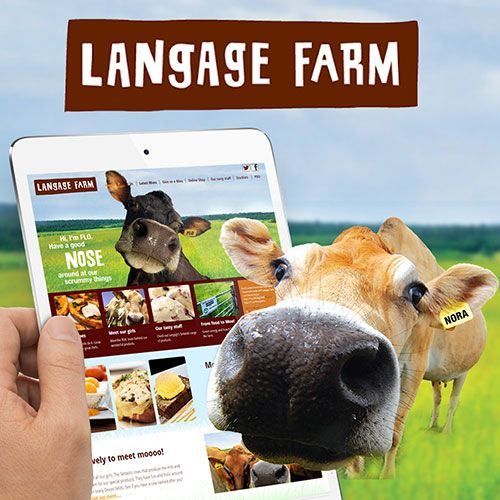 Langage Farm website